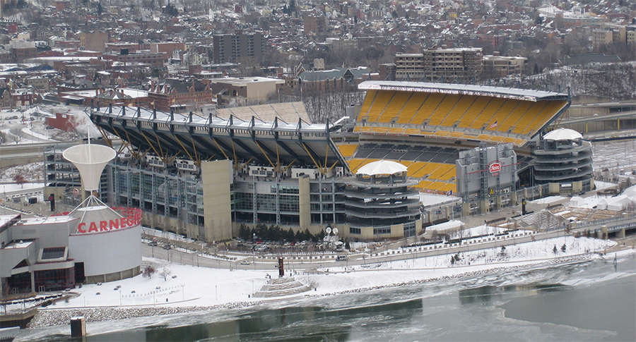 Game Day at Pittsburgh Steelers Heinz Field