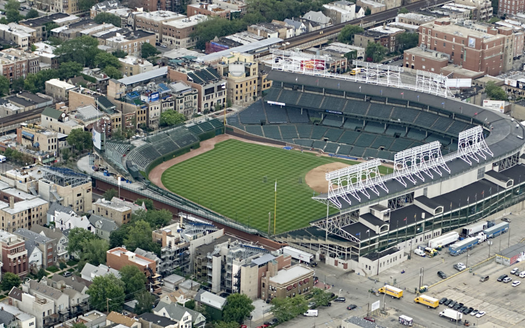With so many taverns and restaurants in Wrigleyville, you may never even get into the Cubs game